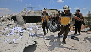 Sejak April, Lebih dari 1.000 Nyawa Sipil Melayang di Suriah