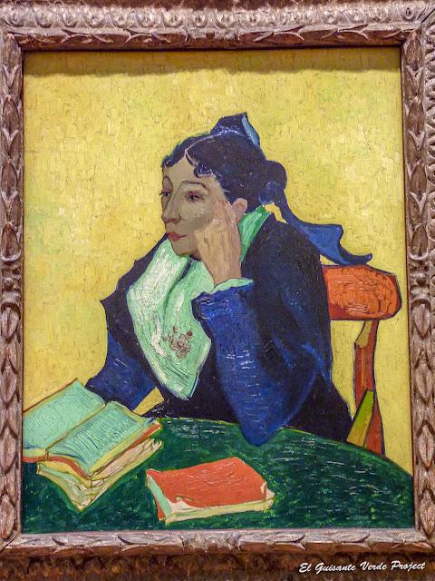 Van Gogh, La Berceuse - MET, Nueva York por El Guisante Verde Project