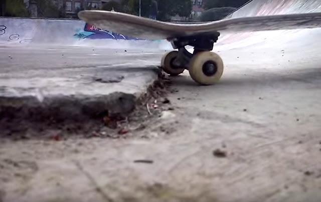 Estado de la pista de skate en Ansio