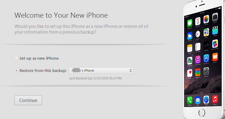 setup as new iphone or restore resolved quot iphone is disabled connect to itunes quot after 19460