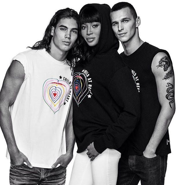 "NAOMI CAMPBELL, VITO BASSO & MORE BY GIAMPAOLO SGURA - ""CHILD AT HEART"" CHARITY COLLECTION"