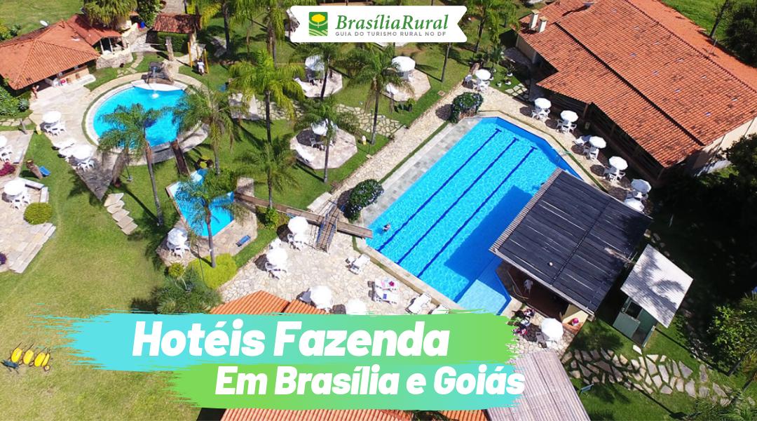 Hotéis Fazenda em Brasília e Goiás para aproveitar as férias de Julho