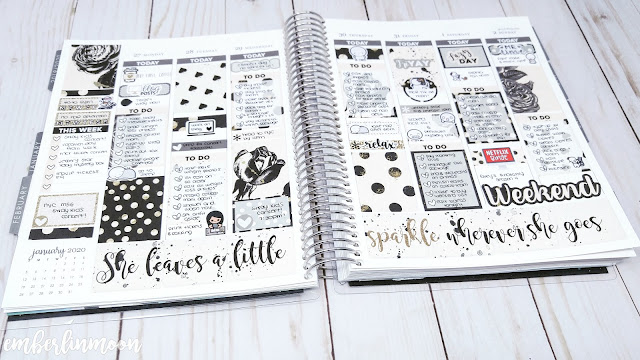 Plan with Me: Ft. Cricket Paper Co | January 27th - February 2nd