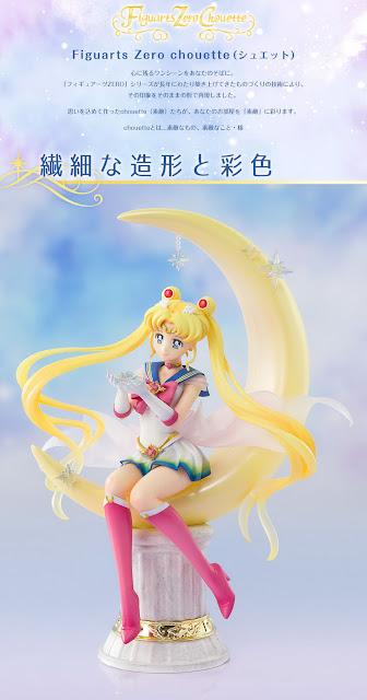 Sailor Moon Eternal – Super Sailor Moon -Bright Moon & Legendary Silver Crystal- Figuarts Zero chouette