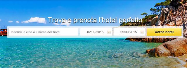prenotare hotel online