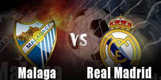 مباراة ريال مدريد وملقا
