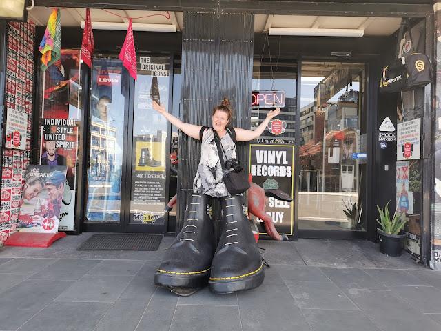 BIG Boots in Newcastle | Newcastle Public Art