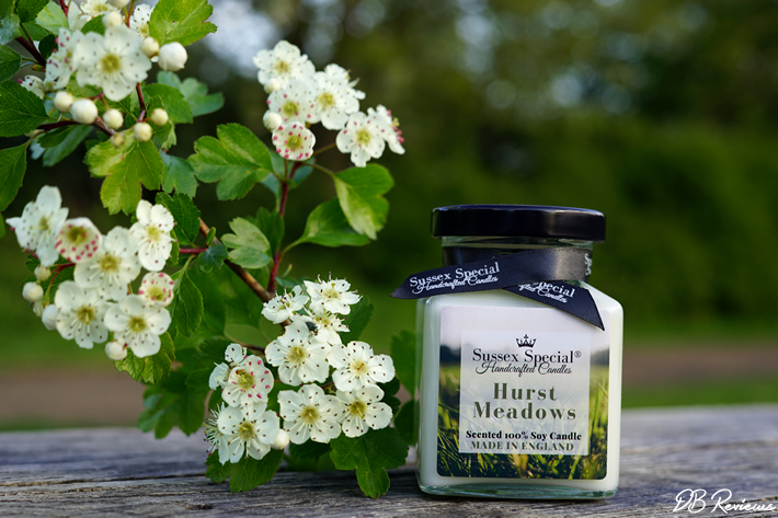 Hurst Meadows Scented Soy Candle