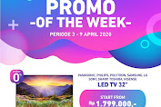 Electronic City Promo Of The Week Periode 3 - 9 April 2020