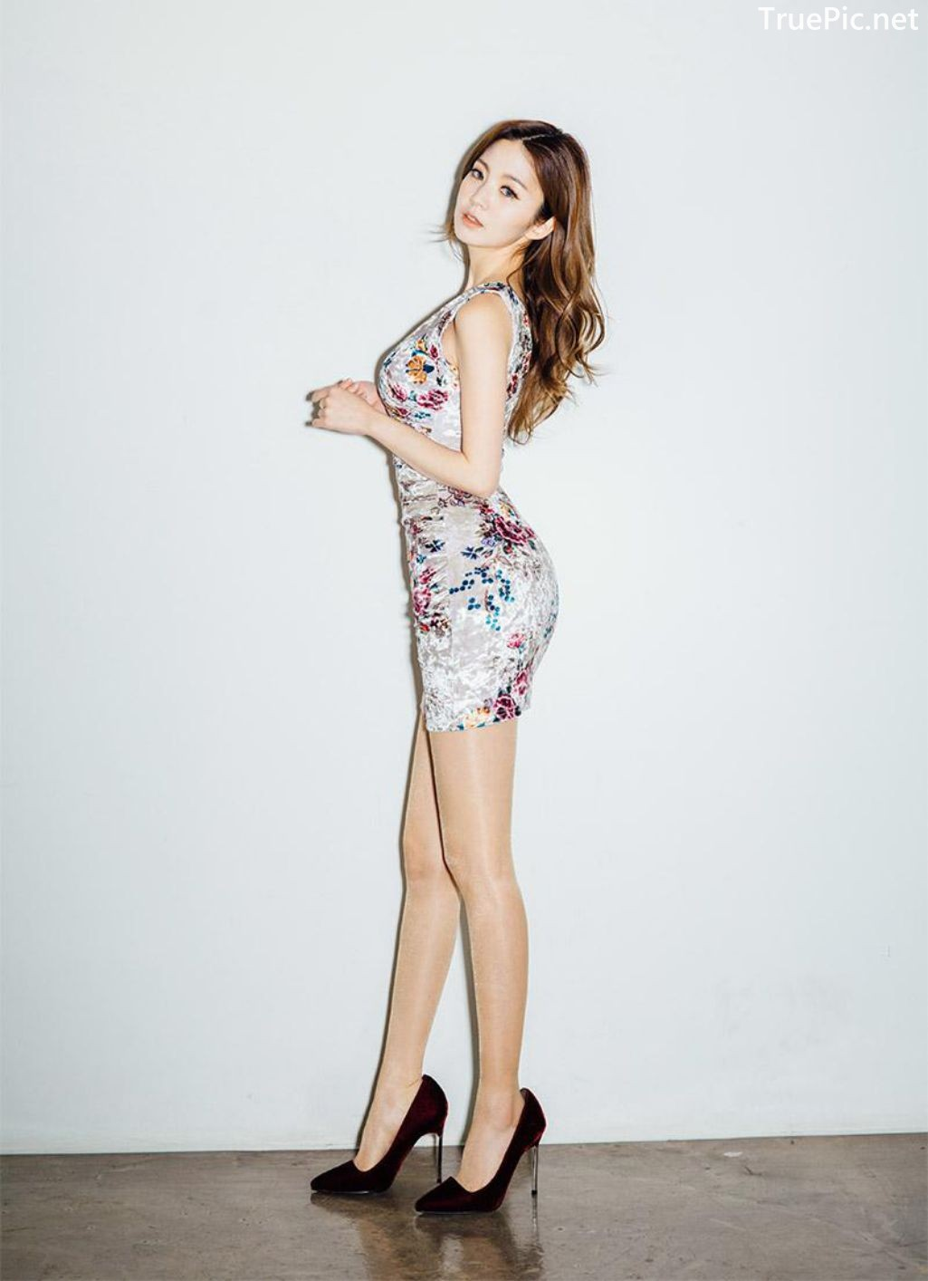 Image-Korean-Fashion-Model-Lee-Chae-Eun-Ready-For-The-Party-Evening-Wear-TruePic.net- Picture-4