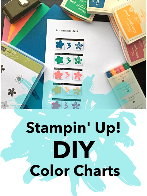 Stampin up color chart