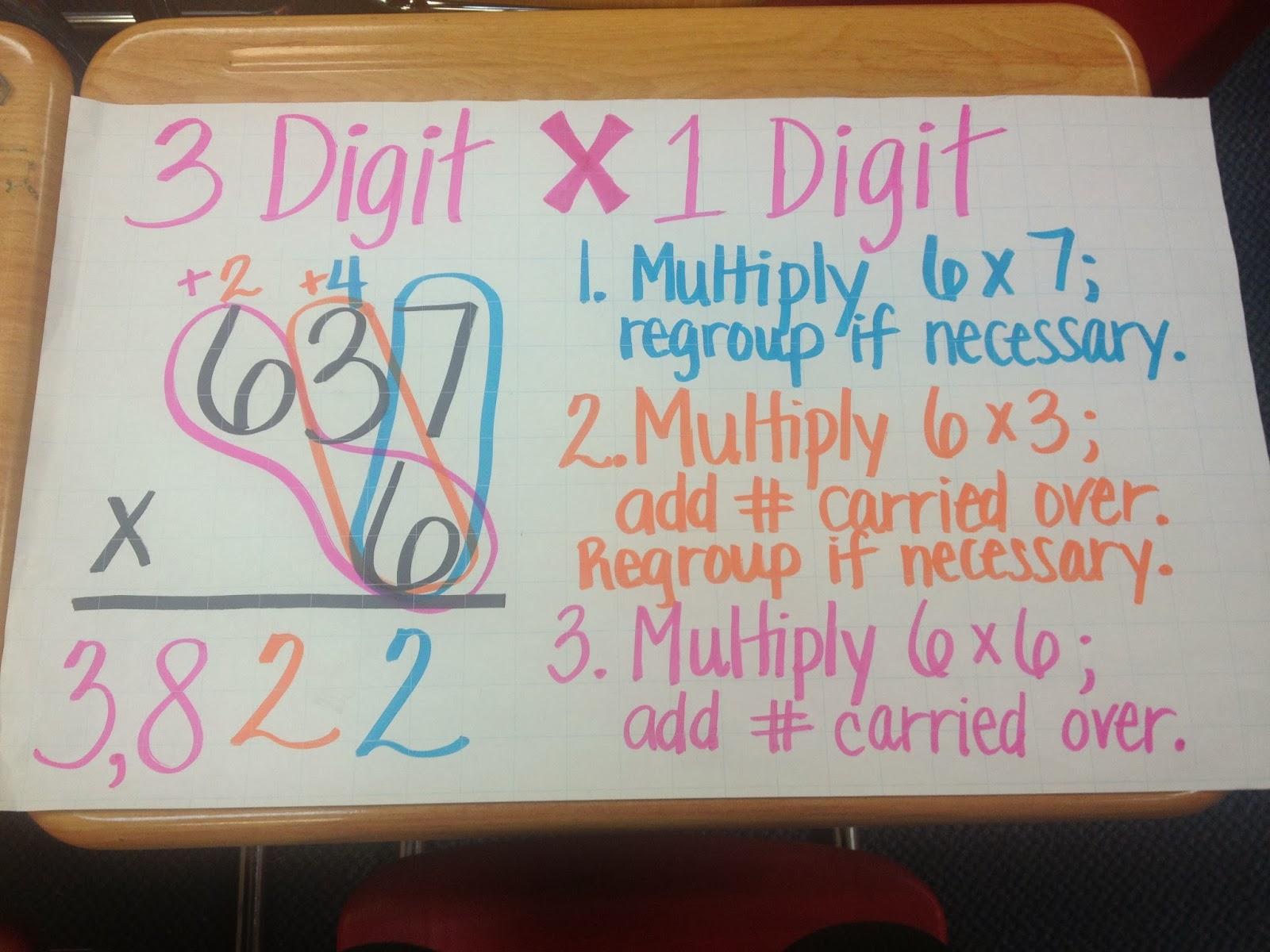 Ms Cao 39 S 4th Grade Math Multiple Digit Multiplication