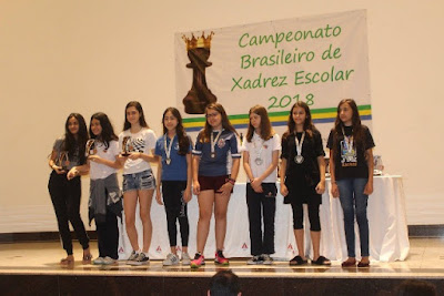 Invicta, Mariana Kikuchi de Registro-SP é Campeã no Brasileiro de Xadrez Escolar em MG