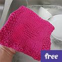 Elizabeth's First Pattern Dishcloth (free)