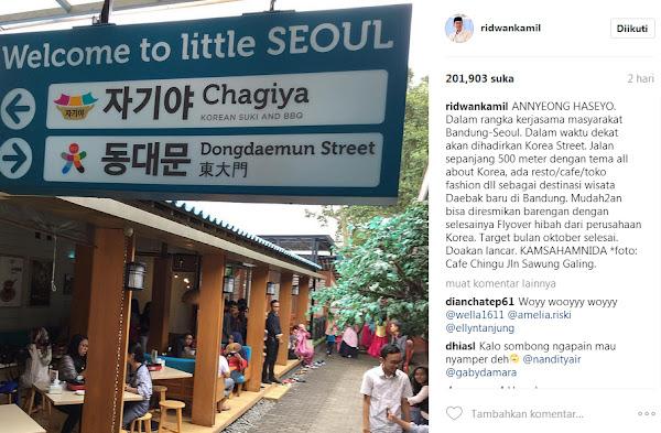 Korean Street di Bandung
