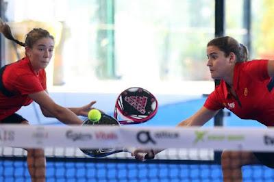 España ya tiene las dos selecciones con las que asaltará el XII Campeonato de Europa de Pádel en Marbella. Equipo Femenino