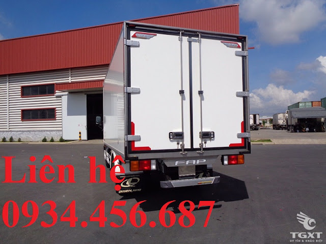 Xe đông lạnh 6 tấn Hyundai 110sl