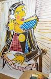 Individual do artista plástico MARKORA na Art Gallery Marcelo Neves