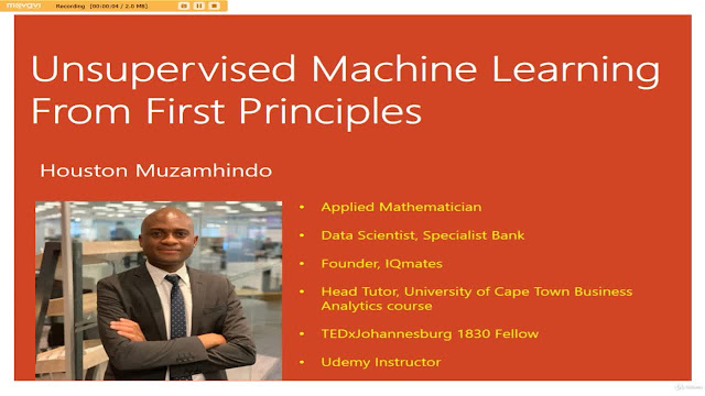 Unsupervised Machine Learning From First Principles