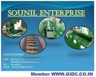 SOUNIL ENTERPRISE - 8401199067 Light Duty Conveyor Belt PU Flat Conveyor Belt PU Round Belt Packaging Belt Coated Belt