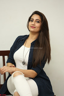 Manjusha in White Tight T Shirt and Black Jacket ~ Exclusive Celebrities Galleries 022