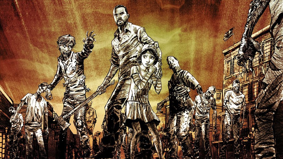 telltale's walking dead lee everett clementine story builder