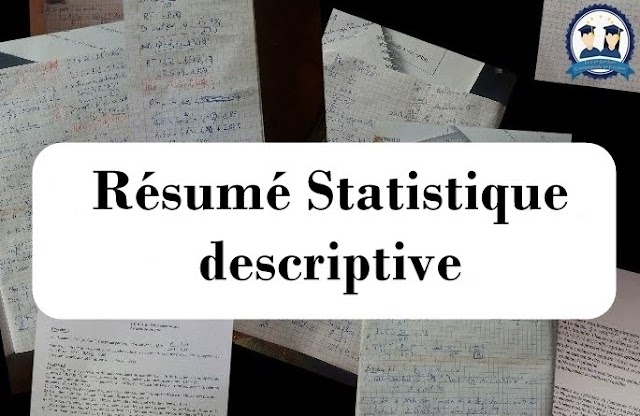 Résumé Statistique descriptive PDF
