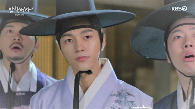 L as Yi-gyeom Drakor Royal Secret Agent
