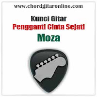 Chord Kunci Gitar Moza Pengganti Cinta Sejati