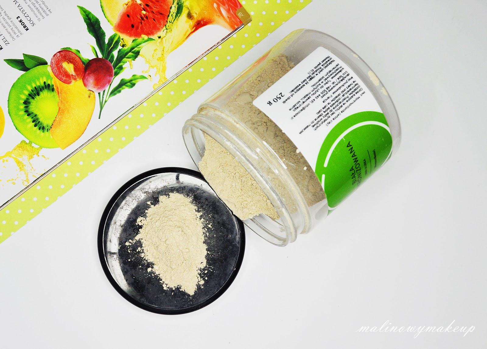oczyszczanie twarzy glinką glinka zielona biała ecospa naturalna pielęgnacja