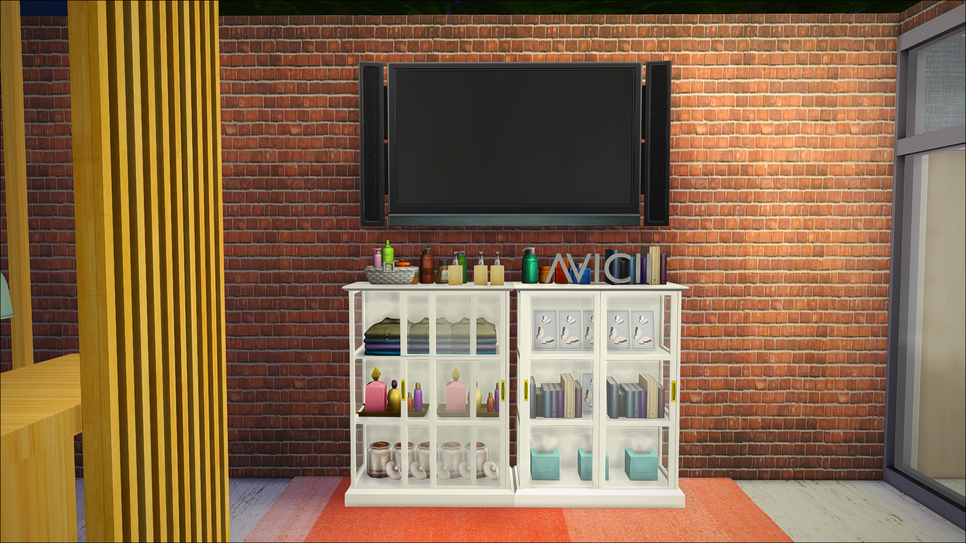 sims 4 cc 39 s the best ikea malsj cabinet with glass