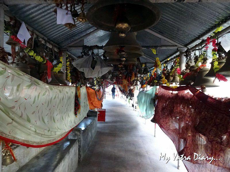 Way to the Chitai Golu Devta Temple, Almora Uttarakhand