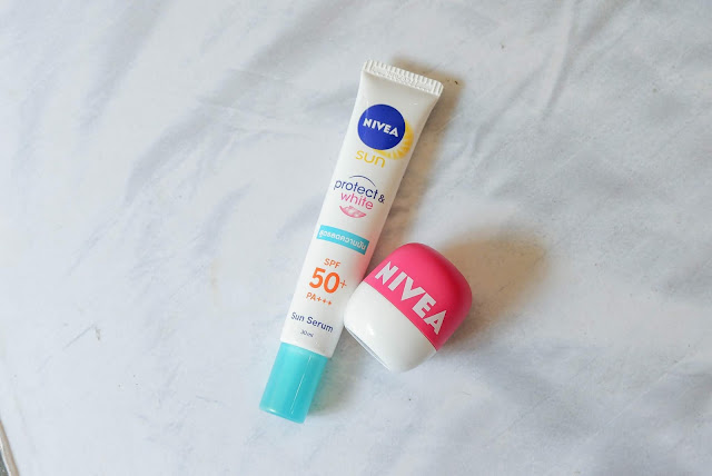 shopee-haul-nivea-sun-serum-pop-ball-lip-balm