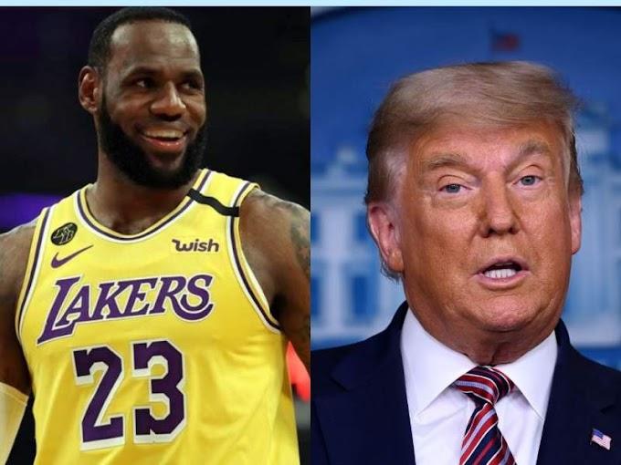 "Trump Slams LeBron: ""Should Focus More On Basketball"""