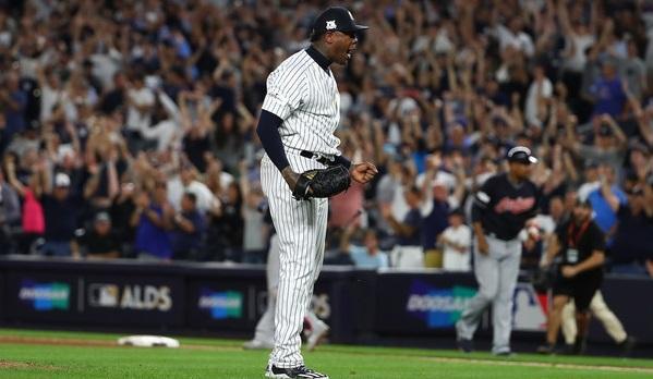 El cerrador cubano de los Yankees viene esta campaña con todo
