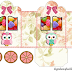 Pretty Owls: Princess Carriage Shaped Free Printable Boxes.