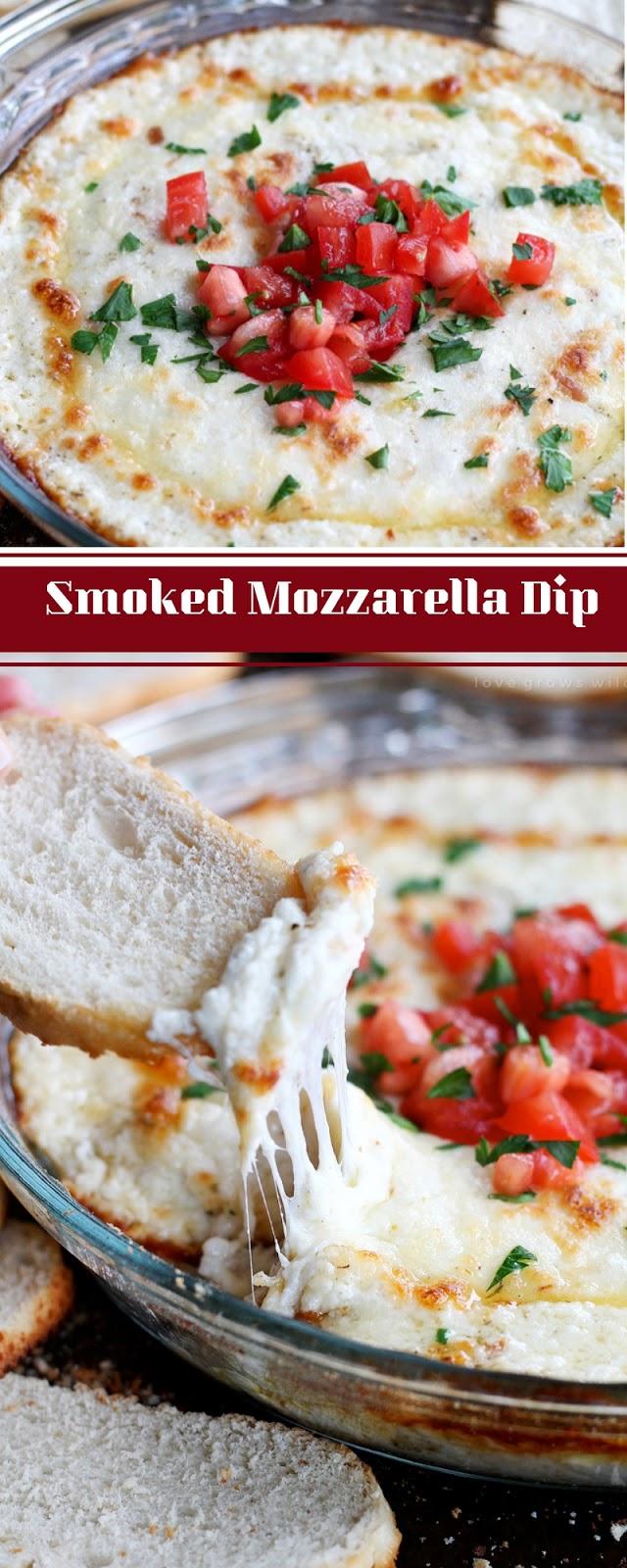 Smoked Mozzarella Dip