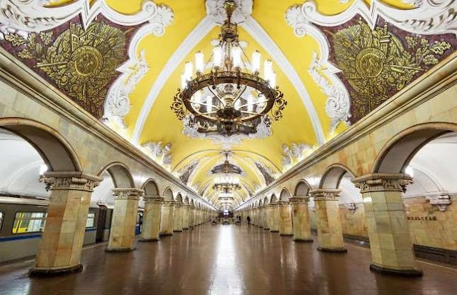9 most beautiful subway stations in the world