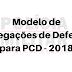 Modelo de Alegações de Defesa - 2018 - Art. 15, inciso I do CEDM