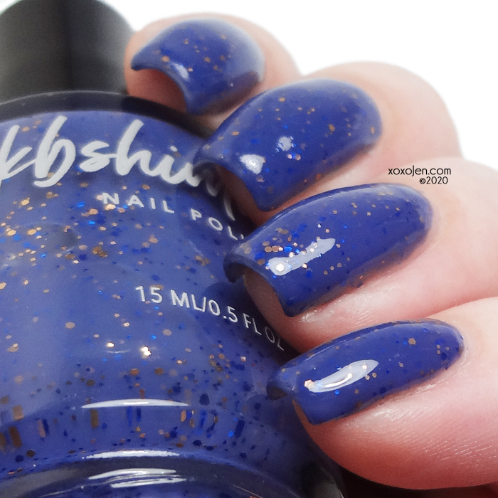 xoxoJen's swatch of KBShimmer Washed Up