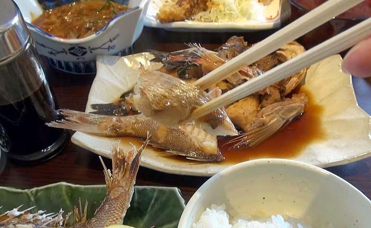 知多師崎丸誠煮魚