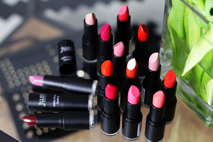 Just cosmetics matte lippenstift