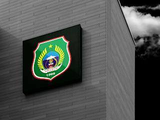 desain papan nama logo provinsi maluku utara - kanalmu