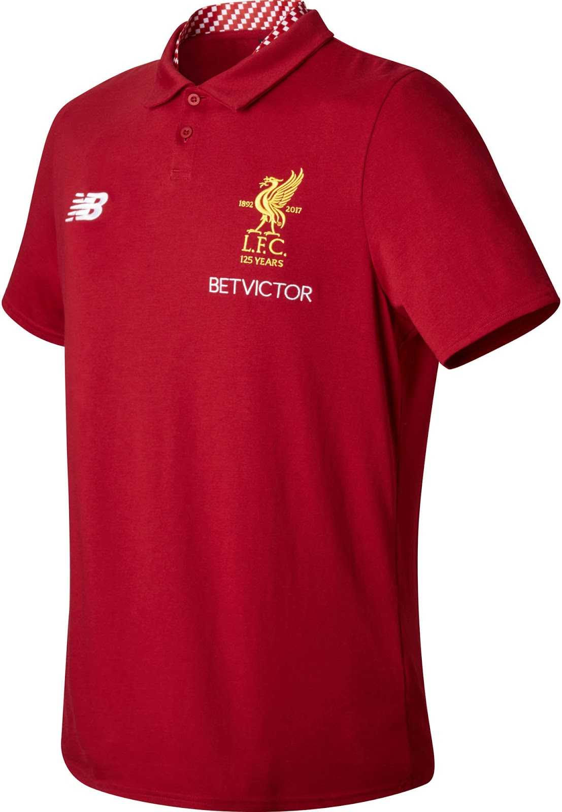 bac98ec34d401 New Balance Liverpool Polo Shirts | Toffee Art