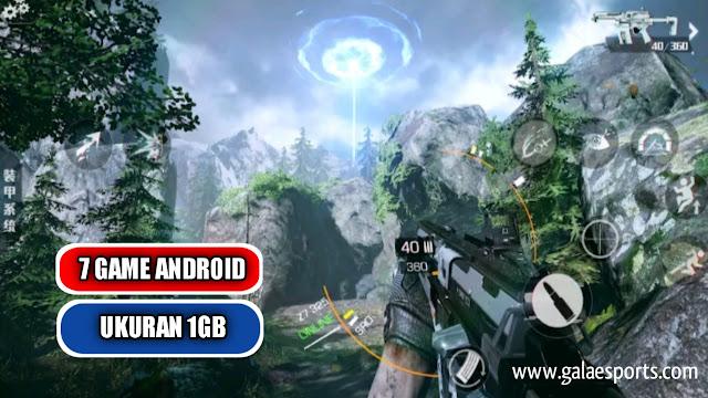 7 game android Offline ukuran 1gb Paling Menantang