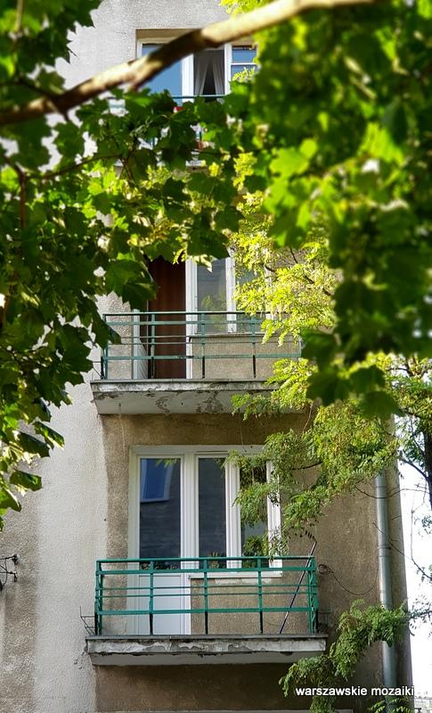 Warszawa Warsaw ulice Ochoty architektura modernizm kamienica