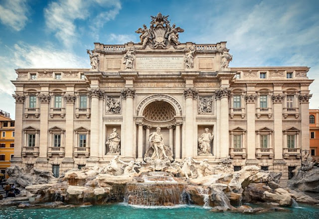 Tourists and Visiting Places in Rome