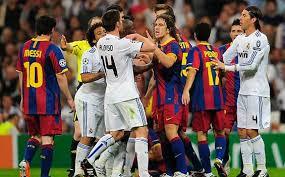 Judi Bola - Barca dan Madrid Pemanasan