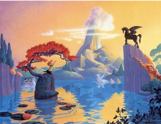 Never Built Disney Ride Concept Art