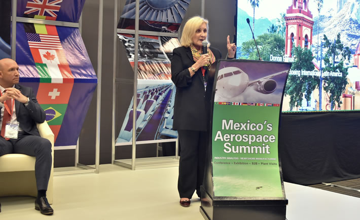 Donna Hrinak, presidenta de Boeing Latinoamérica, reconoció que el accidente del modelo B737 Max 8 de Boeing ha afectado profundamente a esta empresa estadounidense. (Foto: Vanguardia Industrial)